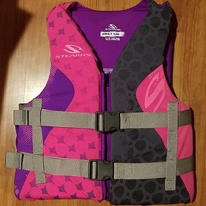 Stearns adult  life jacket size s/m